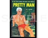 PRETTY MAN - Pulp Fridge Magnet