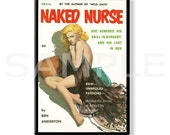 NAKED NURSE - Pulp Fridge Magnet