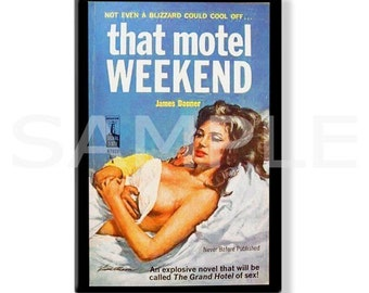 THAT MOTEL WEEKEND - Pulp Fridge Magnet