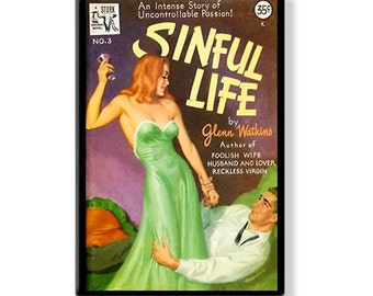 SINFUL LIFE - Pulp Fridge Magnet