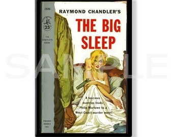 THE BIG SLEEP - Pulp Fridge Magnet