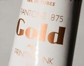 2 tube of metallic Letterpress ink-reserved