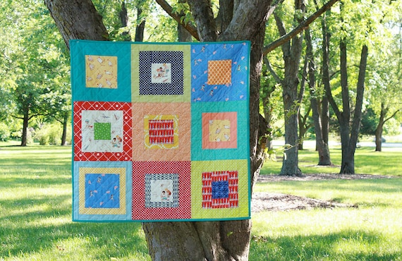 Modern Quilt - Boys at Play