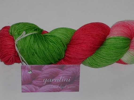 Destash yarntini variegated fingering wt sock by creativemoments