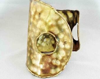 Big Bold Brass Cuff