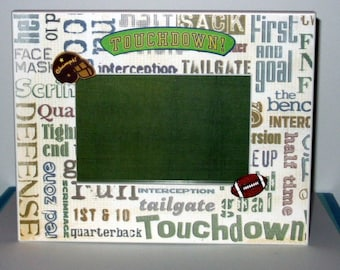 Our Little Football Star -  4x6 Picture Frame