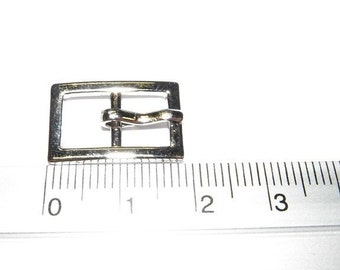 set of 5 belt buckle for 12 inch doll or more 19mm (C)
