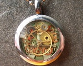 Watch Parts Resin Pendant