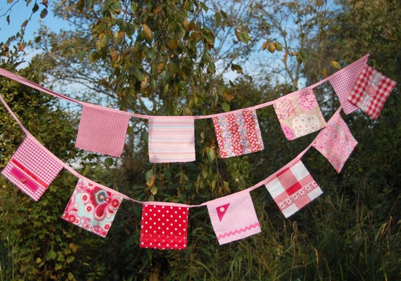 Lovely Pink Bunting