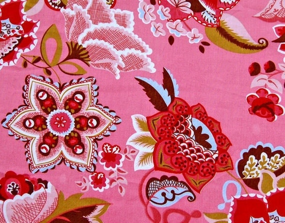 PInk Oilily reprint fabric