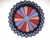 Dresden Plate Penny Rug Pattern #2514