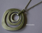 Silver Circular Necklace