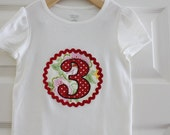 Girl Birthday Shirt - Size 3 months to 12 years old - by Green Apple Boutique