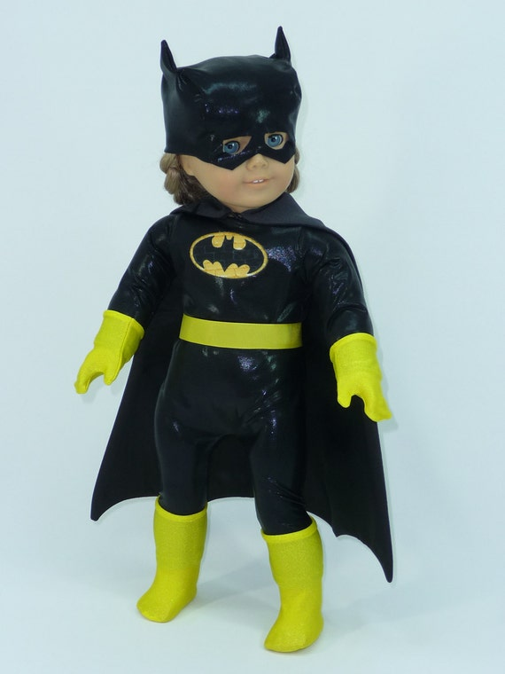 "Batgirl doll outfit for American Girl Dolls or similar 18"" dolls"