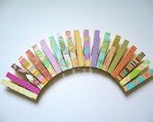 10 x Decorative Clothes Pegs