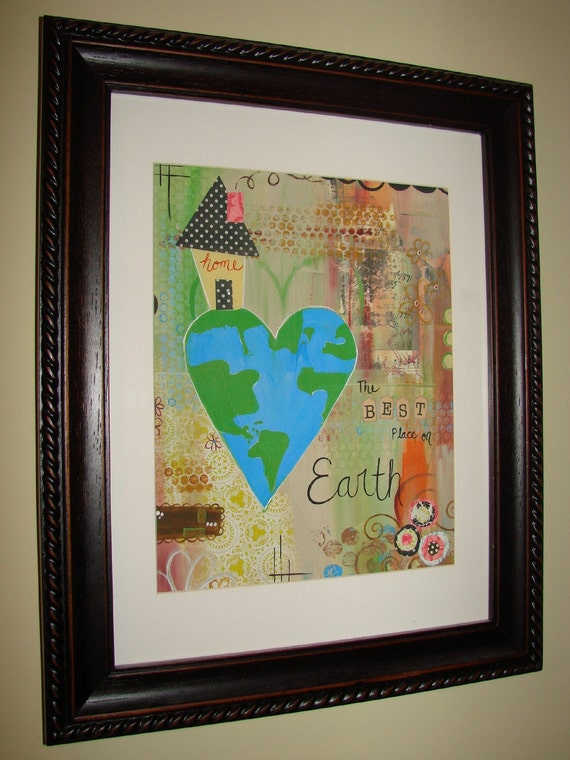 HOME-Best Place on Earth - 8x10 print w matte