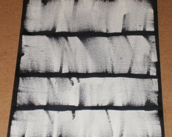 Original Drawing ACEO Black and White
