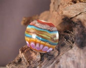 Canyon, Focal,Lampwork,Glass,Southwest.Handmade,Valley Creek Studio
