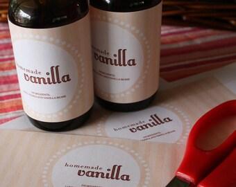 Vanilla Label Pdf