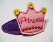 Princess Crown - Snap Clippie - ChewChewsCloset