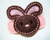 Simply Sweet Chocolate Bunny Snap Clippie