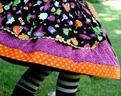 RESERVED for vmousourakis - LAST ONE - Halloween Twirl Skirt