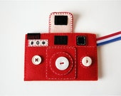Camera Camera Case -HOLGY no.66 (red)