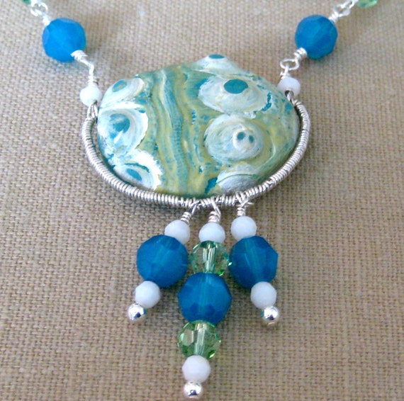 From the Fringes of the Sea Necklace  - N130