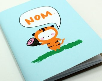 Hungry Tiger Pocket Notebook