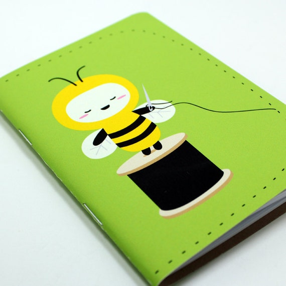Sewing Bee Pocket Notebook