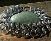 Sterling Silver Ancient Egyptian Spiral bracelet