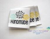 "Mums ""Handmade""  set of 25 clothing labels"