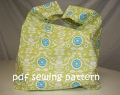 Supermarket checkout bag - PDF sewing pattern