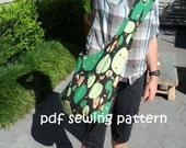 Sling tote - PDF sewing pattern