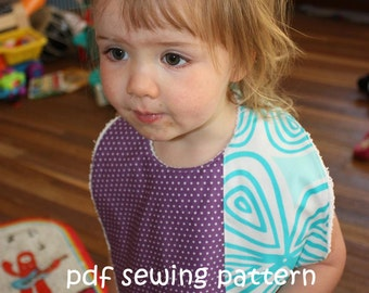 Supersize Me bib - PDF sewing pattern
