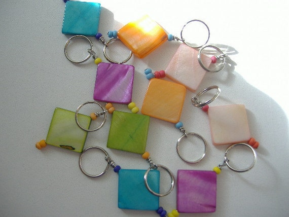 Too Square Stitch Markers-Set of 10