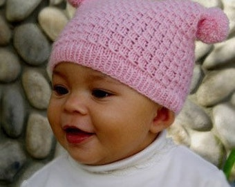 Plumknit Miya Pattern  baby to adult sizes
