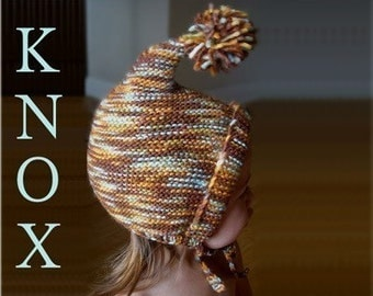 The KNOX Hood knitting pattern is here