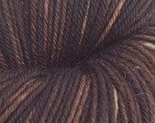 ESPRESSO Hand Dyed Sock Yarn 420 Yards Merino Wool Nylon Skein