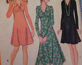 Vintage Dress Pattern sz 10