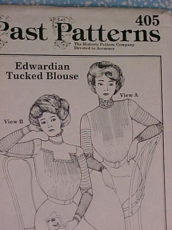 Past Patterns Edwardian Blouse UNCUT
