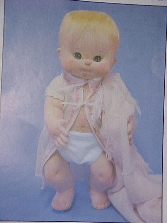 Miss Martha Originals Soft Sculpture Doll Pattern Uncut