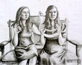 Girls With Yarn