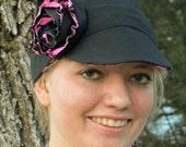 Newsboy Hat Sewing Pattern PDF Adult Sizes. Unisex. Woman, Man.
