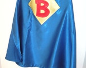 Personalized Royal Blue Superhero Cape