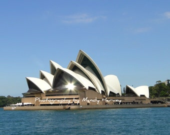 Sydney Opera House, Sydney, New South Wales, Australia, 8x6
