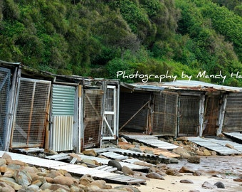 Fishing Huts, Bulli, New South Wales, Australia, 8x6