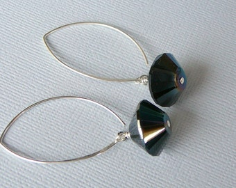 Jet Black Earrings For Your Little Black Dress