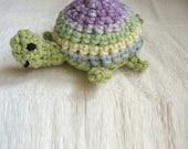 Tina the Turtle Crocheted  Organic Catnip Toy FREE US SHIPPING