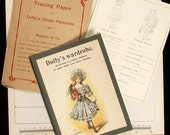 Vintage Booklet of Dolly's Dress Patterns to Dolly's wardrobe